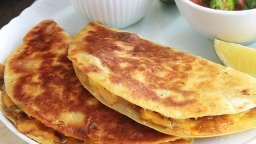 Recettes des quesadillas mexicaines aux légumes, avec ou sans viande