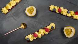 Tartelettes fruits rouges et passion