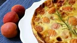 Clafoutis aux abricots, miel et romarin - Ma Cuisine Santé