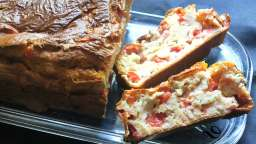 Cake allégé thon-tomates