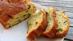 Cake à la courgette et au fromage de chèvre