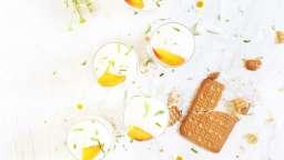 Tiramisu revisité à la crème de coco et abricots