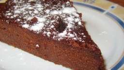 Fondant léger au chocolat et au potimarron sans beurre