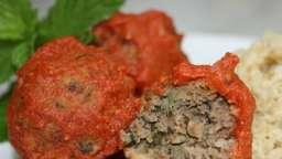 Boulettes de bœuf à la menthe sauce pimentée