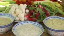 Trio de sauces pour un dip de légumes réussi