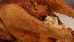 Le poulet farci sous la peau