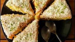 Gâteau Brésilien, noix de coco et goyave