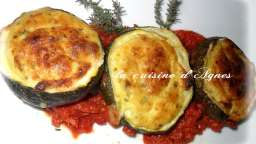 courgettes farcies au brocciu