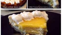 Lemon curd cheesecake comme à London