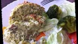 Soufflé aux brocolis et maquereaux