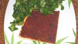 La pichade (pissaladière à la tomate)