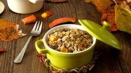Potimarron et crumble à la farine de sarrasin