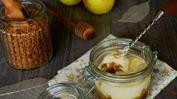 Tiramisu aux pommes caramélisées, mascarpone miellé et spéculoos