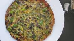 Omelette iranienne à l'aneth et aux fèves