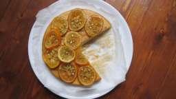 Gâteau aux amandes et bigarades confites