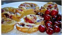 mini clafoutis cerises pistache