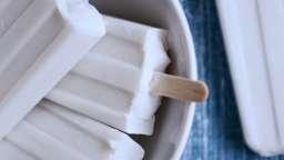 Bâtonnets glacés au lait de coco