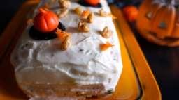 Carrot cake pour halloween