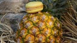 Cupcakes ananas meringués