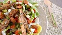 Salade printanière rouge et verte
