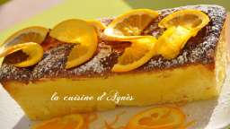 cake à l'orange de mamie margot