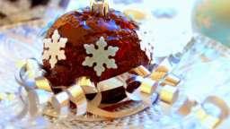 Pudding mendiant de Noël (sans oeufs, ni lait, ni gluten)