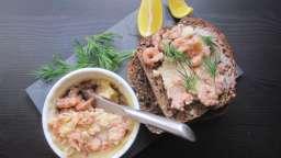 Potted Shrimps ou beurre de crevettes grises
