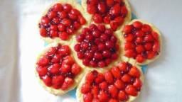 Tarte printanière aux fruits rouges