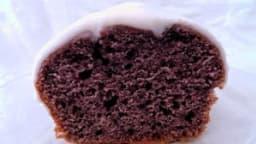 Cake à la patate douce violette et son glaçage au Grand Marnier