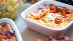 Clafoutis tomates cerises