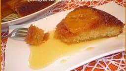 Gâteau renversé aux oranges et épices.