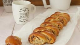 Pull appart bread roll chocolat noisette