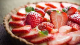 Tarte aux fraises tyrolienne (Autriche)