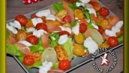 Salade de pommes de terre Norvégienne