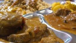 Agneau Nihari aux épices indiennes et eau de rose