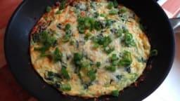 Omelette frittata de printemps