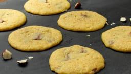 Cookies au chocolat au lait et noisettes