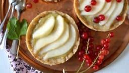Tartelettes crues pomme poire