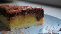 Entremet Vanille - Chocolat au cœur d'abricot