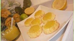 Biscuits coco au lemon curd