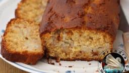 Cake au miel aux épices et à la banane