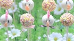 Cake pops de Pâques