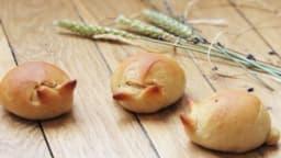 Lapins briochés de Pâques sans beurre ni œuf