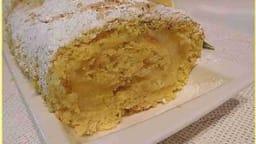 Roulé à la crème au citron de Menton