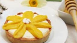 Tartelettes mangue - groseilles