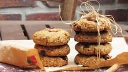Cookies énergétiques aux flocons d'avoine