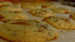Cookies chocolat au lait et caramel