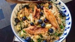 Salade quinoa et fenouil braisé