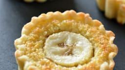 Tartelettes amandes-banane