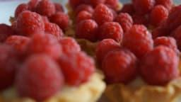 Mini tartelettes fraise et framboise